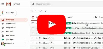 Cómo usar el correo institucional de la FCNyM en GMail